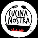 logo cucina nostra in collaborazione con dolci incantati